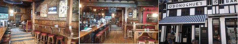 ODonoghues Pub Grafton Street Dublin